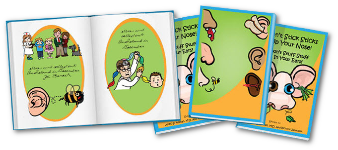 """Teach children important safety lessons with a clever and entertaining board book"""